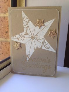Embossed Christmas Star