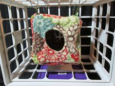 Cuddle Cube  Small Pet by GreenerThanYou on Etsy