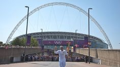 Olympic Flame to visit Wembley Stadium and Alexandra Palace
