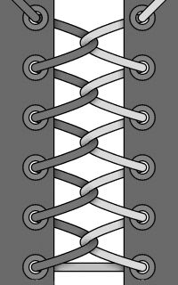 10 ways to thread links for March . Ways To Lace Shoes, How To Tie Shoes, Diy Fashion, Fashion Shoes, Mens Fashion, Sock Shoes, Shoe Boots, Shoe Lacing Techniques, Survival Knots