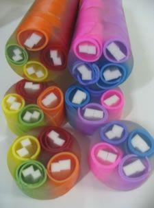 IDEIAS BUBBLE SOAP - ARTESANATO FOFO: Sabonete colorido no tubo