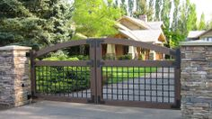 Emerald Ironworks~Driveway Gate Systems