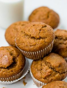 The Most Amazing Pumpkin Muffins - Pretty. The Most Amazing Pumpkin Muffins - Pretty.<br> These easy spice pumpkin muffins stay moist for days! They are tender, flavorful, and perfect to make around the holidays. Muffins Chocolate Chip, Pumpkin Chocolate Chips, Chocolate Cheesecake, Best Pumpkin Muffins, Pumpkin Muffin Recipes, Pumpkin Puree, Pumpkin Salad, Spiced Pumpkin, Roast Pumpkin