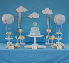 Hot Air Balloon Baby Shower Party Ideas | Photo 2 of 60 | Catch My Party