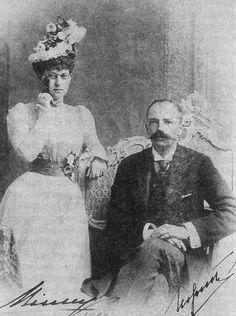 Grand Duke George Mikhailovich of Russia and his wife, Grand Duchess Maria Georgievna