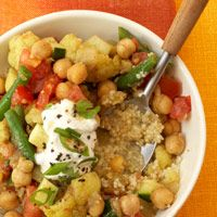 Curried Vegetable Stew With Couscous