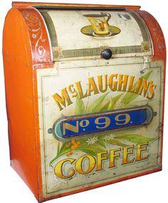 McLaughlins No. 99 Coffee Store Bin