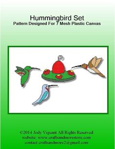 HUMMINGBIRD SET by JODY VIGEANT 1/4