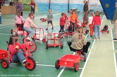 rowerki, trójkołowce, rydwany oraz przyczepki