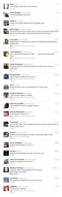 I love Dognuts!! Sometimes spelling errors can be hilarious! Twitter users who can't spell.
