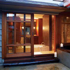 Spa Bathroom Ideas - Sunset