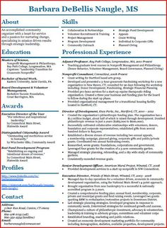 Functional Resume Example A Functional Resume Focuses On