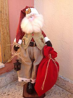 Noel Bernardo Christmas Sewing, Christmas Fabric, Christmas Crafts, Christmas Ornaments, Christmas Makes, Christmas And New Year, Merry Christmas, Xmas, Santa Doll