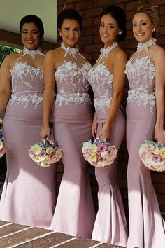 Bridesmaid Dresses Pink Bridesmaid Dresses For Cheap Long Bridesmaid Dresses Mermaid Bridesmaid Dresses Bridesmaid Dresses 2018 Mermaid Bridesmaid Dresses, Wedding Bridesmaid Dresses, Mermaid Dresses, Dress Wedding, Lace Mermaid, Mermaid Wedding, Formal Wedding, Lace Wedding, Pink Bridesmaids