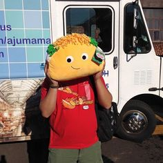 I bought a Kidrobot YUMMY WORLD Large Taco plush from @rivetgallery and carried it around the Independent's Day 2015 Festival. Props to @cbusadventures for taking the pic. #kidrobot #yummyworld #id15 #rivetgallery