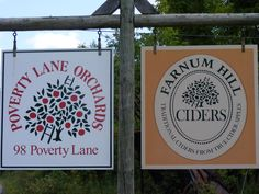 Courtesy Farnum Hill Ciders and Poverty Lane Orchards in Lebanon, New Hampshire.