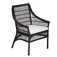 McGuire Furniture: Water Mill Arm Chair: WK-120