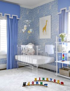 Cute Baby Boy Nursery Ideas for Small Rooms Cute Baby Boy Nursery Ideas for Small RoomsPregnancy is the most exciting moment for every woman. It is full of happiness, joy, and anxi Boy Nursery Themes, Nursery Room Decor, Nursery Design, Kids Bedroom, Blue Nursery Ideas, Blue Nursery Girl, Bedroom Decor, Blue Bedroom, Nursery Art