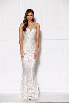 Grace & Hart - Drama Lace Gown Ivory