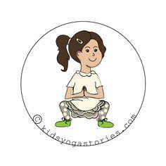 Squat Pose for Kids