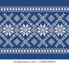 Norway Festive Sweater Fairisle Design Seamless: similar images … - knitting Fair Isle Knitting Patterns, Christmas Knitting Patterns, Fair Isle Pattern, Knitting Charts, Weaving Patterns, Knitting Designs, Knitting Stitches, Tejido Fair Isle, Fair Isle Chart