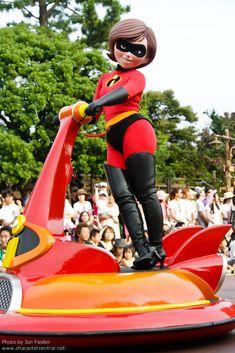 Disney Parks, Walt Disney World, Mrs Incredible, Tokyo Disneyland, Kinky, Pixar, Ronald Mcdonald, Thighs, The Incredibles