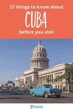 Planning to visit Cuba? Here are 27 Cuba travel tips to know before you visit Cuba to make your Caribbean vacation stress free and fun! Info on flights (more options than Havana!), where to stay, visa rules, travel from the USA, hotels and where to stay, tips around money and currency, and more as you plan your itinerary.  This is one of the most beautiful places full of things to do, culture, history and great people.  #travel #Cuba #familytravel #solotravel #caribbean #vacation