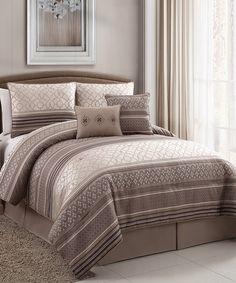 Look at this #zulilyfind! Plum Havoc Comforter Set by Victoria Classics #zulilyfinds