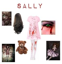 """""""SALLY"""" by fallenangel889 ❤ liked on Polyvore featuring Foot Traffic, Maiocci and Gund"""