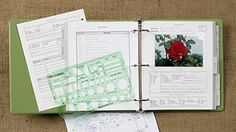 Garden Journal.  So need one of these for all of my garden planning.  Then I'll really be ready to garden... I think.  ;)