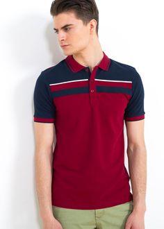 DIBUJO Y COLORIDO Polo Vest, Polo Rugby Shirt, Mens Polo T Shirts, Boys T Shirts, Polo Shirt Style, Polo Shirt Design, Polo Design, Camisa Polo, Moda Junior