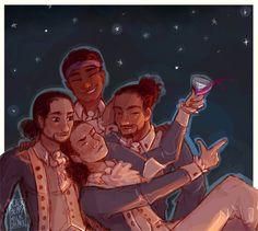 The story of tonight Hamilton Musical, Hamilton Drawings, Lams Hamilton, Hamilton Comics, Daveed Diggs, John Laurens, Hamilton Fanart, And Peggy, Alexander Hamilton