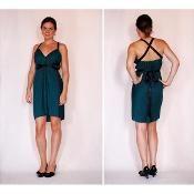 Faith's 15 Minute Dress - via @Craftsy