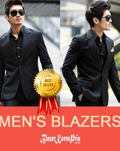 Blazer Korea Pria Fromal Two Button