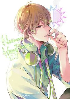 Natsumi, I don't get it, his lifestile is a bit strange, he do workout every day and smoks