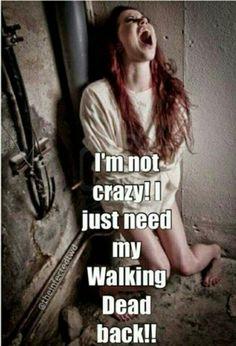 The Walking Dead #twd.  :(