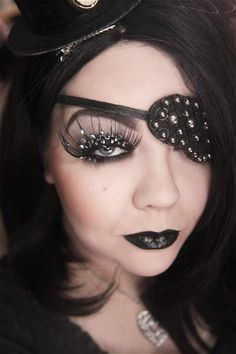 Pirate makeup @Nancy Suddeth-Repp ....can you help me out ...