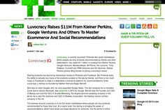 http://techcrunch.com/2013/05/16/luvocracy-raises-11m-from-kleiner-perkins-google-ventures-and-others-to-master-ecommerce-and-social-recommendations/ ... | #Indiegogo #fundraising http://igg.me/at/tn5/