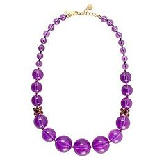 kate spade. bowery ball graduated necklace. pretty.
