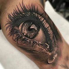 Incredible eye tat.  Follow: @inked for the best tattoos! @inked