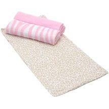 Walmart: Summer Infant SwaddleMe Muslin Swaddling Blanket, Jungle Diva, 3pk
