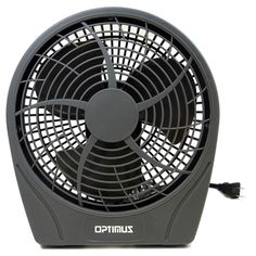 9 Stylish Personal Fan 3 Speed- Silver