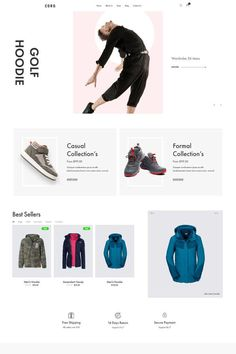 """Coro is a clean, minimal, creative and modern eCommerce theme for WordPress platform. Powered by WordPress' most popular eCommerce platform """"WooCommerce"""", Coro can be the too Ecommerce Website Design, Ecommerce Websites, Wordpress Theme Design, Web Design Services, Ecommerce Platforms, Landing Page Design, Website Themes, User Interface Design, Web Design Inspiration"""