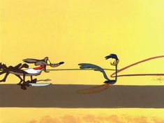 cherjournaldesilmara:  Gif - Road Runner & Coyote