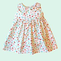 Fun and Easy Summer Baby Dress Sewing Pattern Baby Summer Dresses, Summer Baby, Girls Dresses, Summer 2016, Baby Dresses, Baby Dress Patterns, Skirt Patterns, Coat Patterns, Blouse Patterns