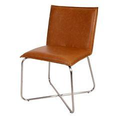 Design Esszimmerstuhl Cross Vintage Cognac (2er Set) - Maße 81x53x40 cm - Sitzkissen aus hochwertigem Vintage PU-Leder FurnLAB http://www.amazon.de/dp/B00PKC68TA/ref=cm_sw_r_pi_dp_rw5mvb16QN6TY