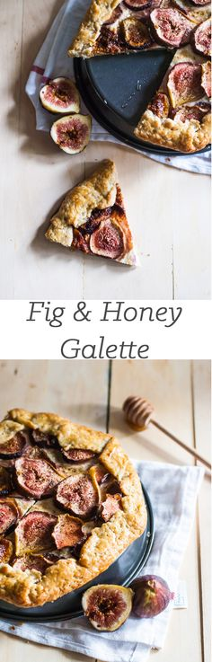 Fig And Honey Cheesecake Galette | A Cookie Named Desire