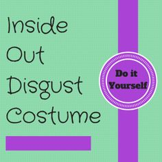 Inside Out Disgust Costume