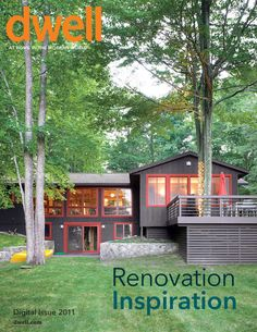 A great way to reinvent a ranch house.  And please, keep the trees!