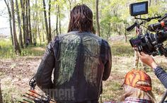 Norman Reedus' Day on the 'Walking Dead' Set: An EW Photo Album Daryl Dixon, Norman Reedus, Fear The Walking Dead, Dead Inside, Stuff And Thangs, Dead Man, Best Shows Ever, On Set, Favorite Tv Shows